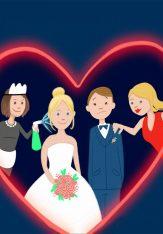 Een fantastisch trouwfeest