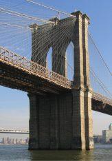 Van de brug af gezien